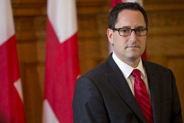 Le maire Michael Applebaum... (Photo David Boily, La Presse)
