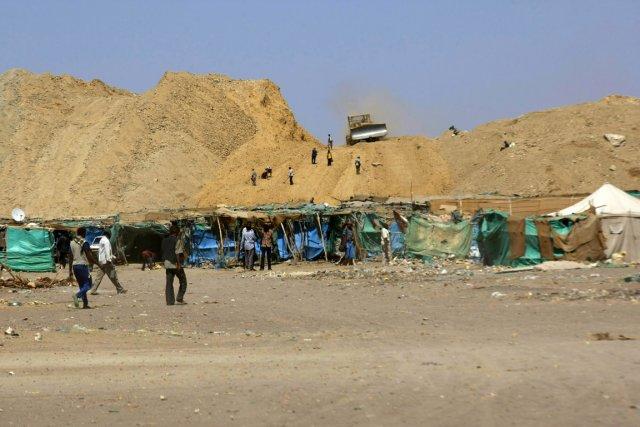 La mine d'or deWadi Bushara, localité du centre-est... (PHOTO MOHAMED NURELDIN ABDALLAH, REUTERS)