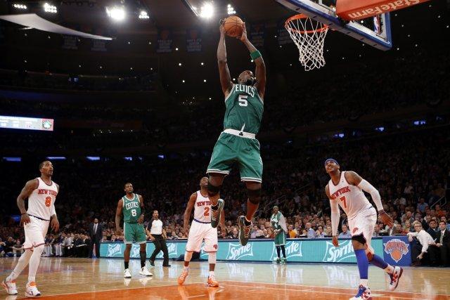 Les Celtics de Boston ont défait les Knicks... (Photo Mike Segar, Reuters)