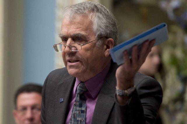 Le vice-premier ministre François Gendron.... (Archives La Presse Canadienne)