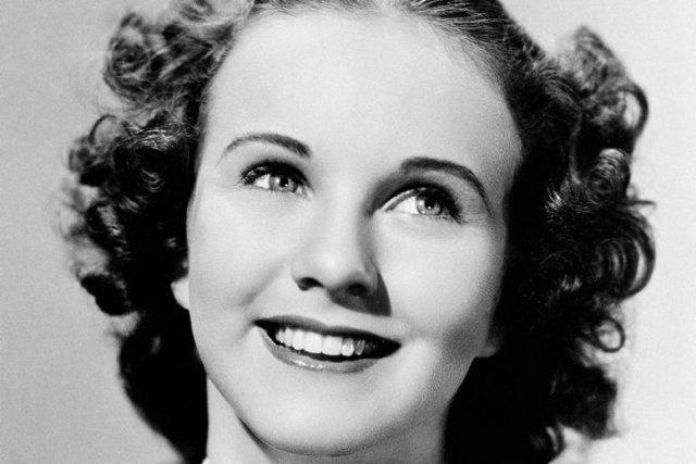 Deanna Durbin en 1937... (Photo: archives AP)