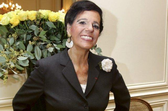 Viviane Forrester en novembre 2005.... (Photo: archives AFP)