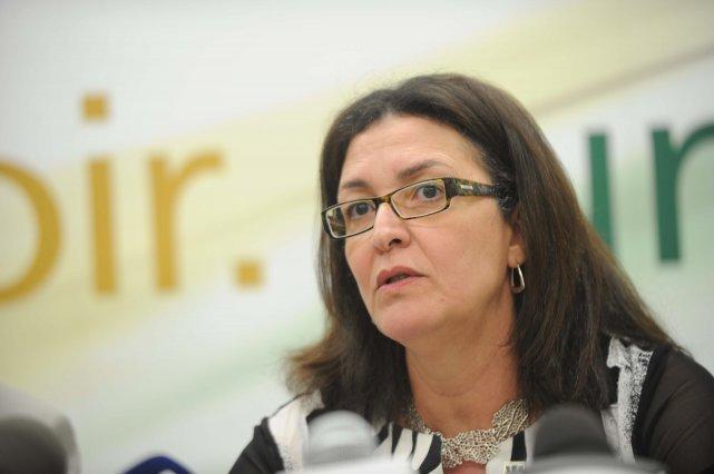 La rectrice de l'UQTR, Nadia Ghazzali.... (Sylvain Mayer)
