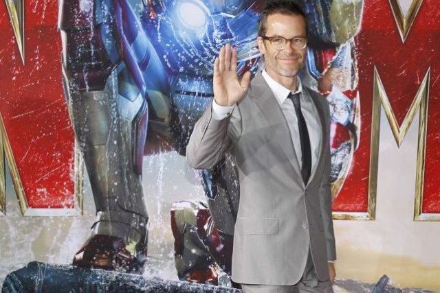 Guy Pearce à la première d'Iron Man 3.... (Photo: Reuters)