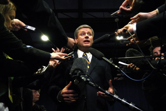 Le groupe Journalistes canadiens pour la liberté d'expression (CJFE) a attribué... (Photo archives Reuters)