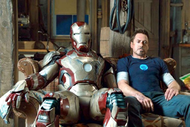 Iron Man 3 vient clore la trilogie ... (Photo : archives AP)
