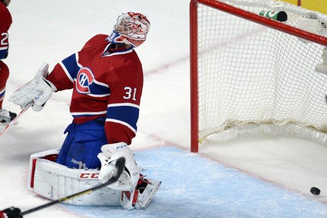 Carey Price a gaspillé un match que ses... (Photo Bernard Brault, La Presse)