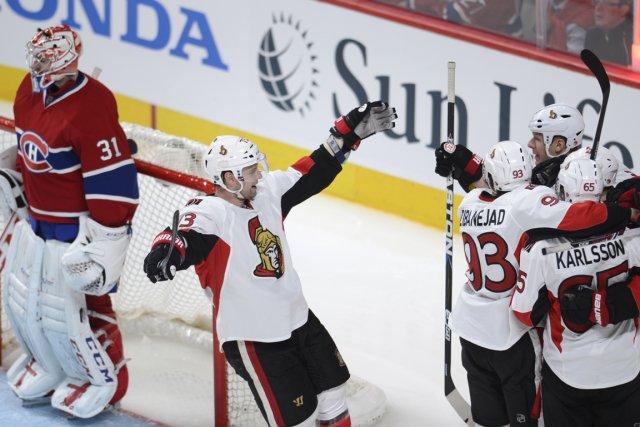 Relisez notre clavardage du premier match de la série entre le Canadien et les... (Photo Bernard Brault, La Presse)