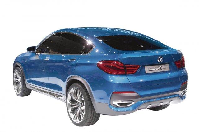 Le BMW X4 reprendra intégralement l'architecture de l'actuel... (Photo fournie par BMW)