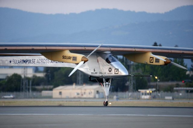 Solar Impulse... (Photo Reuters)