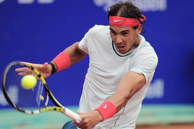 Rafael Nadal a remporté quatre tournois après s'être... (Photo Josep Lago, AFP)