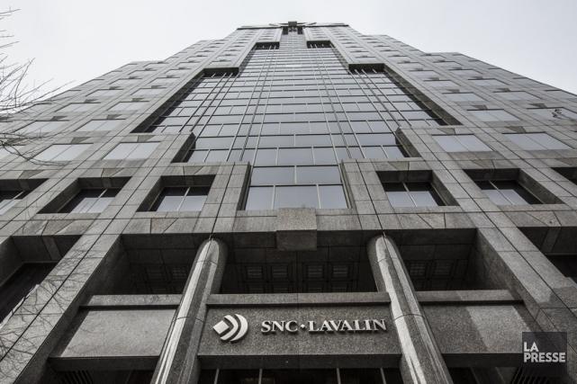 Le siège social de SNC-Lavallin à Montréal.... (Archives La Presse, Olivier Pontbriand)