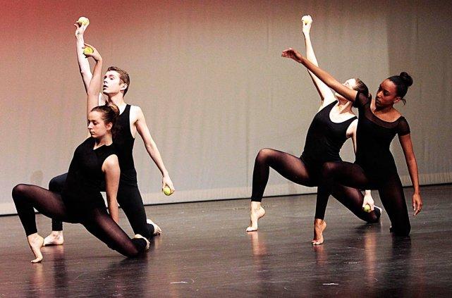 Le Centre d'excellence artistique (CEA) de l'école secondaire publique De La... (Étienne Ranger, LeDroit)