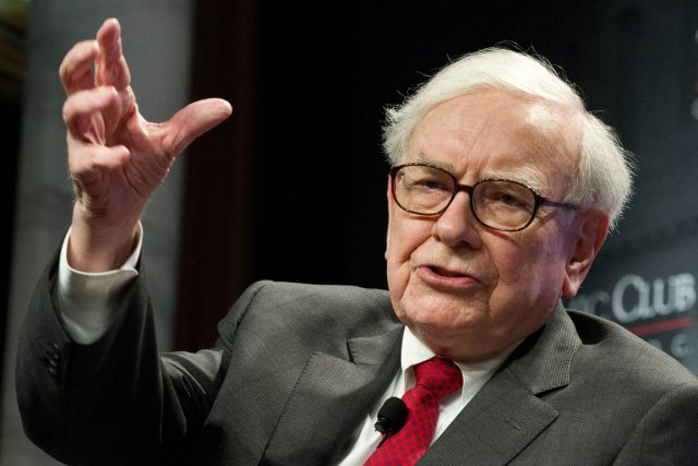 Warren Buffett... (Photo: AFP)