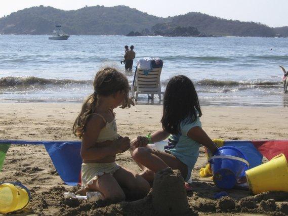Des enfants dans un club Med.... (Photo Fabienne Couturier, La Presse)
