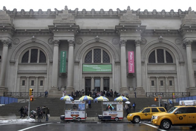 Le Metropolitan Museum à New York.... (PHOTO ARCHIVES AP)