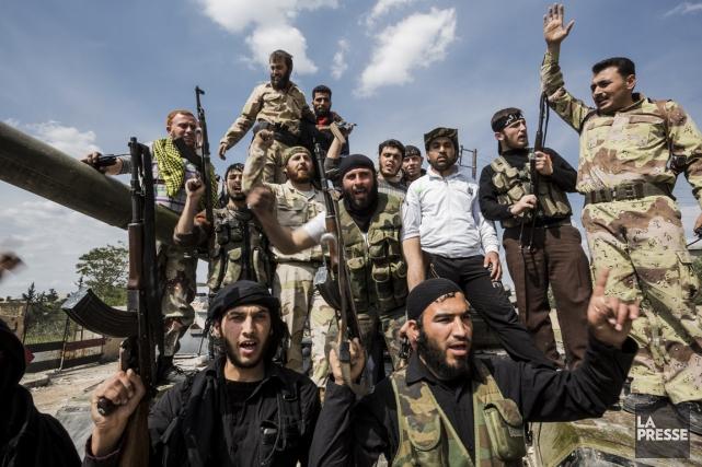 Les salafistes sont des combattants redoutables venus prêter... (Photo Édouard Plante-Fréchette, La Presse)