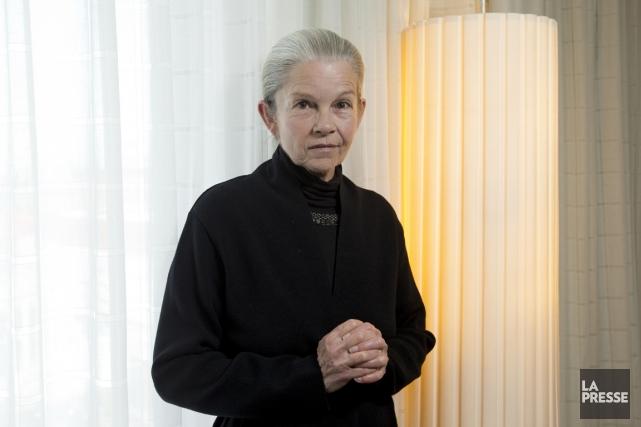 Geneviève Bujold a reçu comme un cadeau la... (PHOTO ALAIN ROBERGE, LA PRESSE)