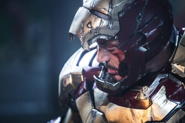 Robert DowneyJr. dansIron Man3.... (PHOTO FOURNIE PAR MARVEL)