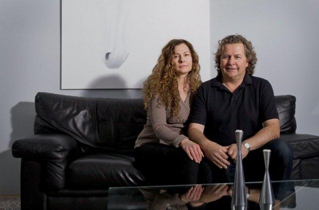 Dominique Day et Normand Latourelle... (PHOTO ANNE GAUTHIER, LA PRESSE)