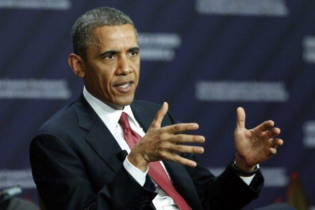 Le président des États-Unis Barack Obama a estimé samedi qu'Israël avait le... (Photo KEVIN LAMARQUE, REUTERS)
