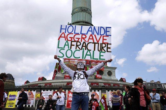 Une «marche citoyenne» a été organisée à Paris,... (Photo: AFP)