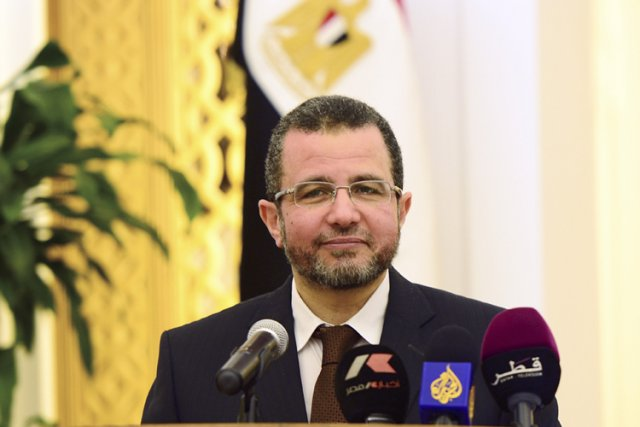 Le Premier ministre égyptien Hicham Qandil.... (Photo: Reuters)