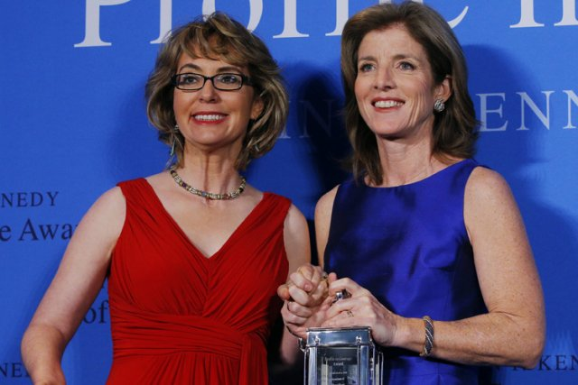 Caroline Kennedy, la présidente de la fondation, a... (Photo: Reuters)