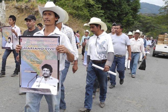 Des citoyens de Chiapas ont manifesté leur colère... (Photo courtoisie)