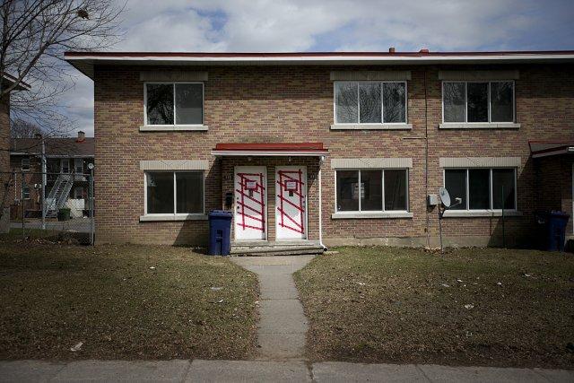 En date du 1er avril, 186 logements des... (Photo: Marco Campanozzi, La Presse)