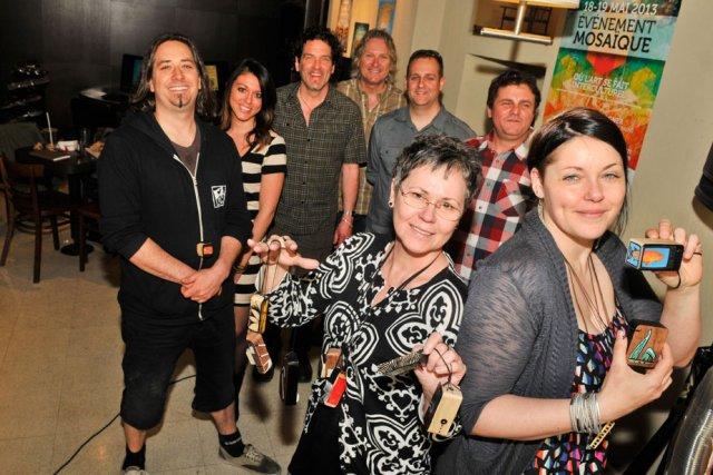 L'Événement Mosaïque réunira de nombreux artistes en musique... (Photo: Émilie O'Connor)