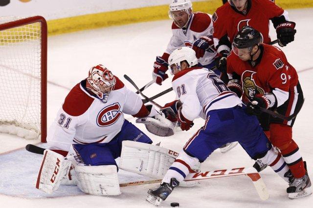 Relisez le clavardage du quatrième match de la série entre le Canadien et les... (Photo Chris Wattie, Reuters)
