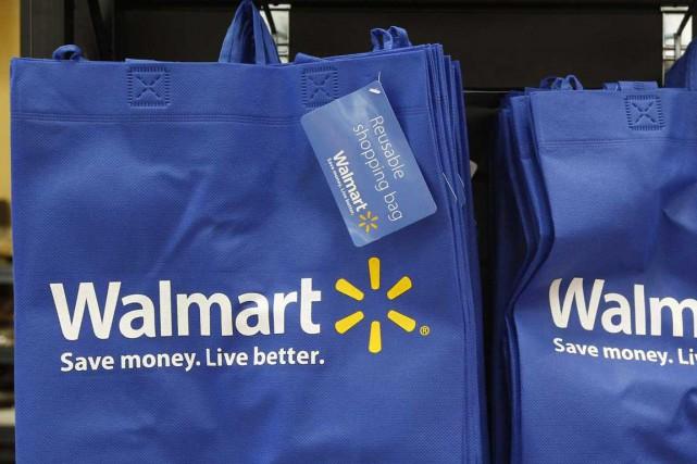 Walmart poursuit de nouveau en justice l'émetteur de cartes bancaires Visa... (PHOTO JIM YOUNG, REUTERS)