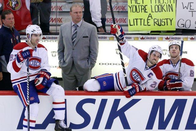 L'entraîneur Michel Therrien et le Canadien peuvent encore... (Photo Fred Chartrand, PC)