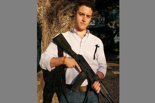 Colin Wilson, un étudiant de 25 ans, est... (Photo tirée de l'internet)
