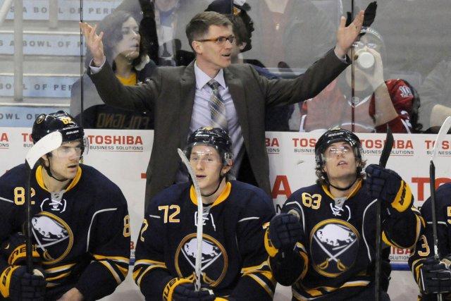 Ron Rolston a mené les Sabres de Buffalo... (Photo Doug Benz, Reuters)