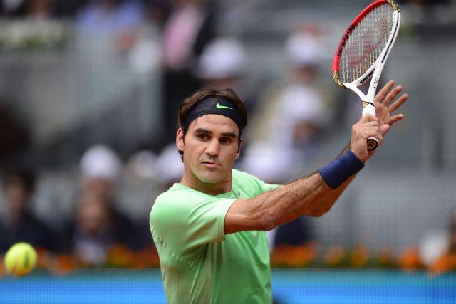 Roger Federer... (Photo Javier Soriano, AFP)