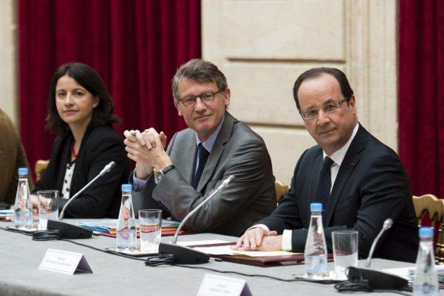 François Hollande (à droite)... (Photo AFP)