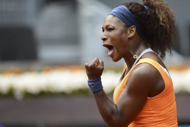 Serena Williams... (Photo Javier Soriano, Agence France-Presse)