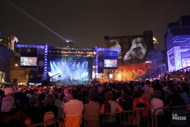 En 2011, les 25 grands festivals au Québec... (Photo archives La Presse)