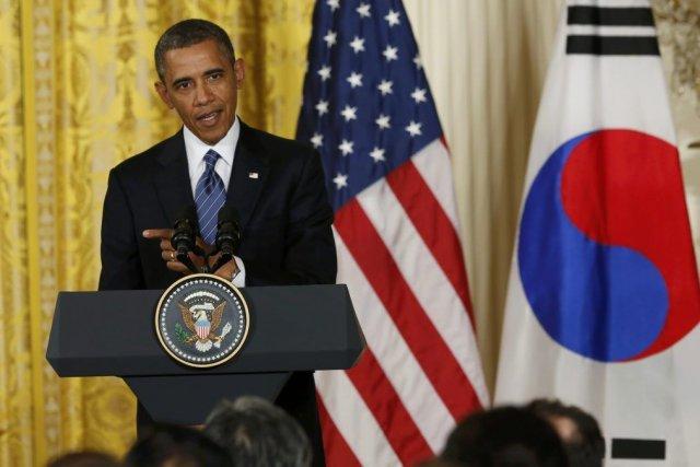 «Et comme je l'ai dit à la présidente... (Photo Kevin Lamarque, Reuters)