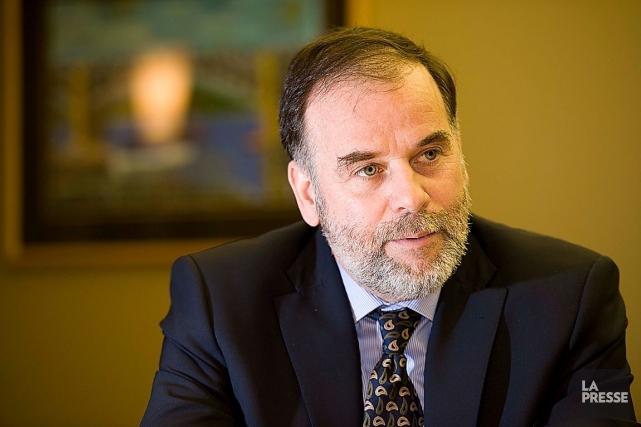 Le ministre de l'Enseignement supérieur, Pierre Duchesne.... (Photothèque Le Soleil, Steve Deschênes)