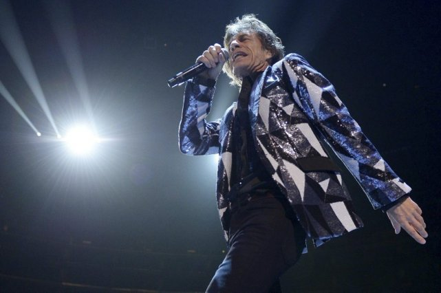 Mick Jagger... (Photo Joe Klamar, Agence France-Presse)