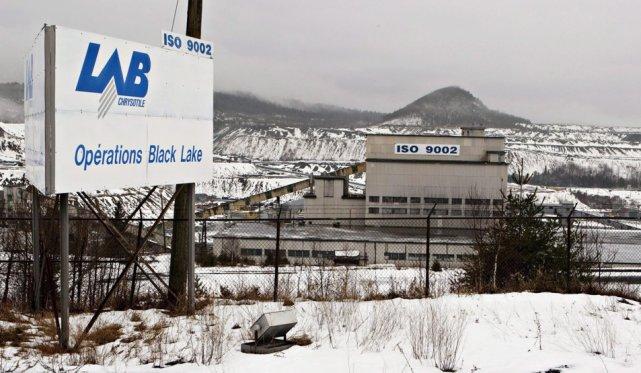 La mine fermée Lab Chrysotile à Thetford Mines.... (Archives La Presse Canadienne)