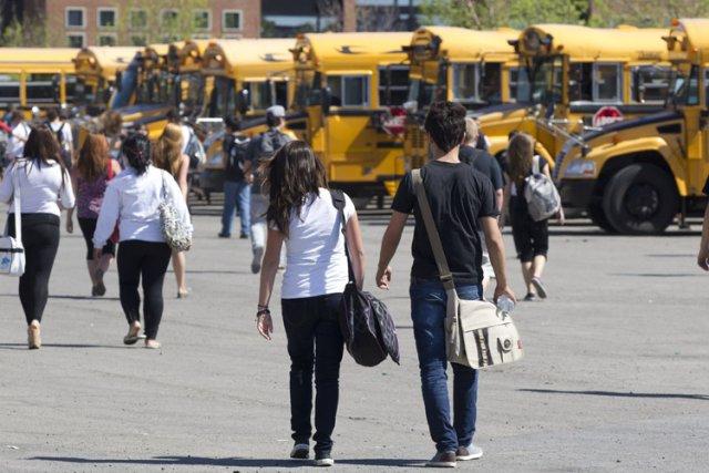 La Commission scolaire de Montréal prévoit une diminution... (Photo: Olivier Jean, La Presse)
