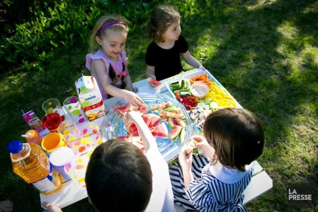 En tout, les maternelles de la province accueilleront... (Photo André Pichette, archives La presse)