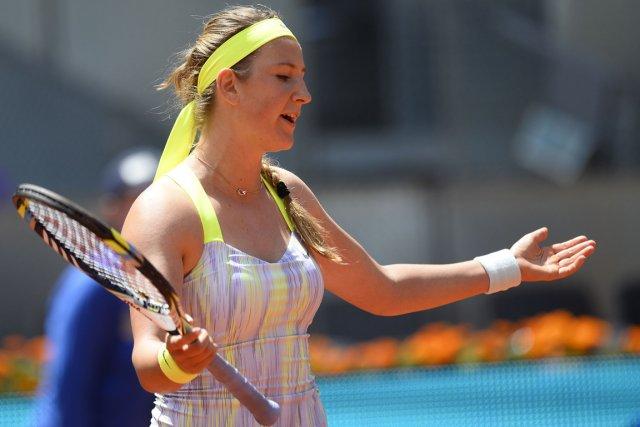 Victoria Azarenka... (Photo Pierre-Philippe Marcou, AFP)