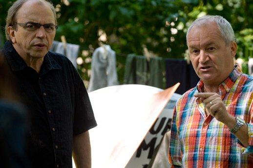 Julien Poulin et Michel Barrette dans Rock et... (Photo: fournie par TVA)