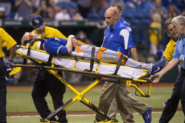 Le lanceur des Blue Jays J.A. Happ a... (Photo Scott Audette, Reuters)