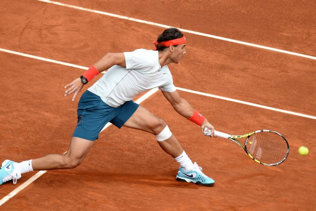Rafael Nadal... (Photo Pierre-Philippe Marcou, AFP)